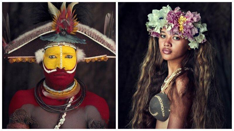 Коренные народы мира: 20 фотопортретов, от которых невозможно оторвать взгляд (21фото)