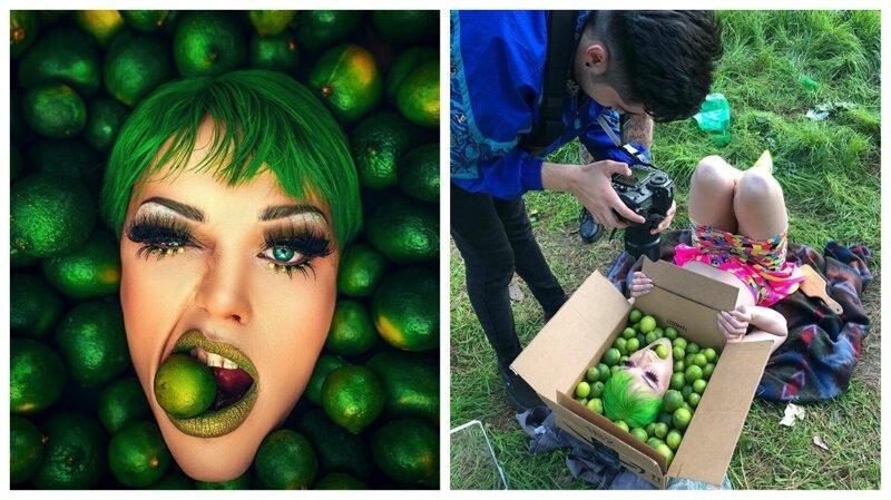 Фотокухня: как снять потрясающие женские портреты без студии и дорогого реквизита (36фото)