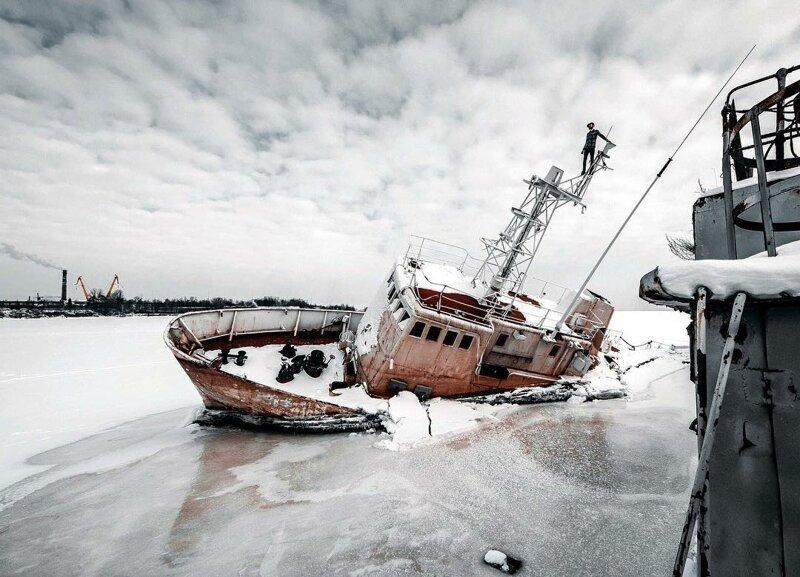 Покинутая Россия: потрясающие фотографии Алексея Полякова (40фото)