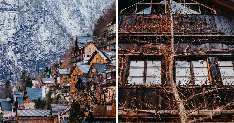 Сказочная деревня Гальштат в фотографиях (28фото)