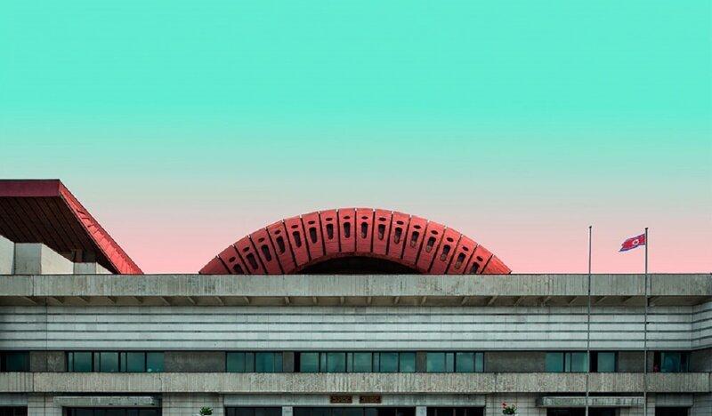 Фотохудожники изобразили Пхеньян в пастельных тонах (11фото)