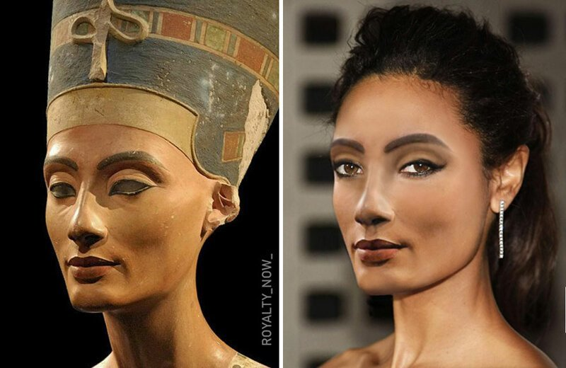 Цезарь, Нефертити и другие: как выглядели бы известные люди прошлого сегодня (30фото)