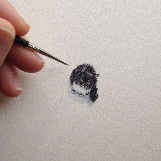 15 удивительных миниатюр, которые согрели нам сердце (15фото)