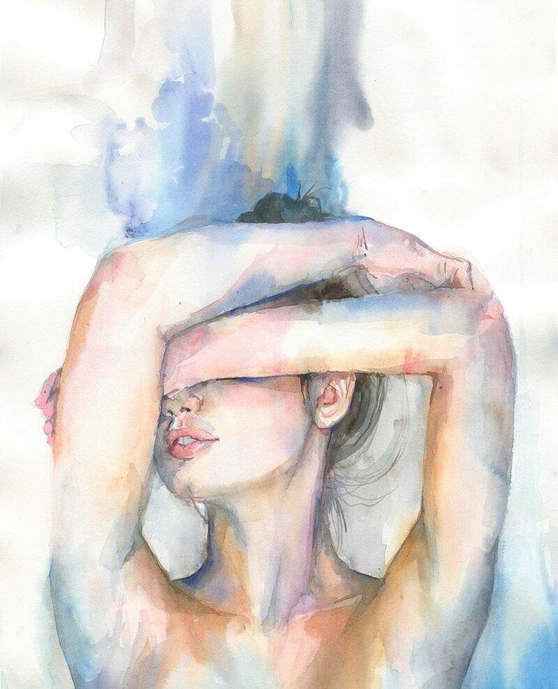 Violetta Boyadzhieva художник из Болгарии (4фото)