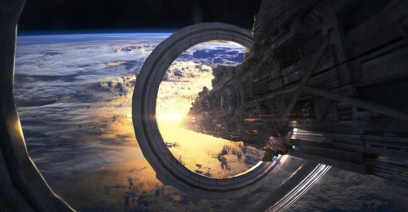 Цифровые научно-фантастические работы Лиама Фенга (11фото)