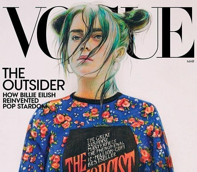 Как рисунок девятиклассницы из российской глубинки попал на обложку Vogue (10фото)