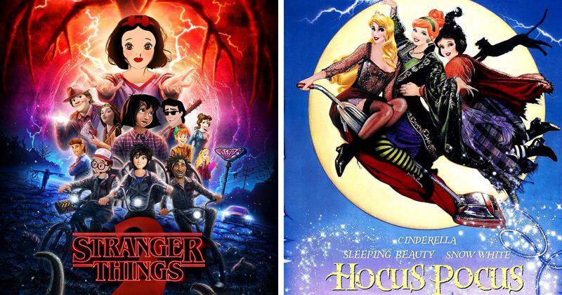 Персонажи Диснея примерили роли в популярных сериалах и фильмах (22фото)