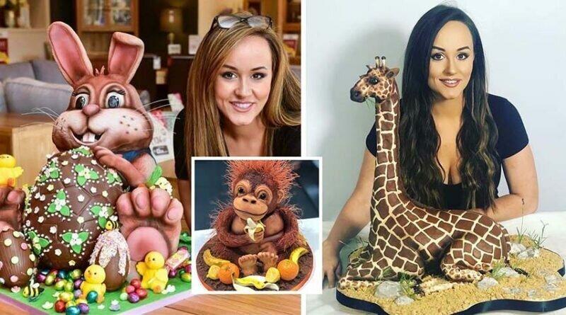 Невероятные 3D-торты в виде животных (20фото)