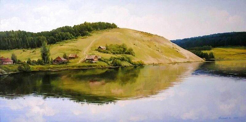 Прекрасные пейзажи Вячеслава Палачева (27фото)