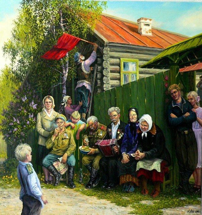 Андрей Петрович Лях и его работы (29фото)