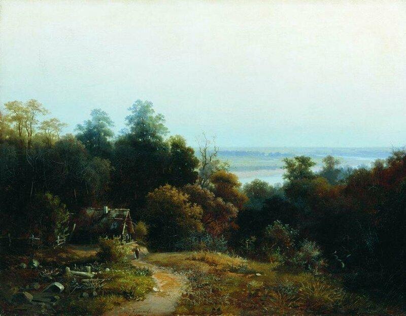 Лев Львович Каменев (1832-1886) и его замечательные пейзажи