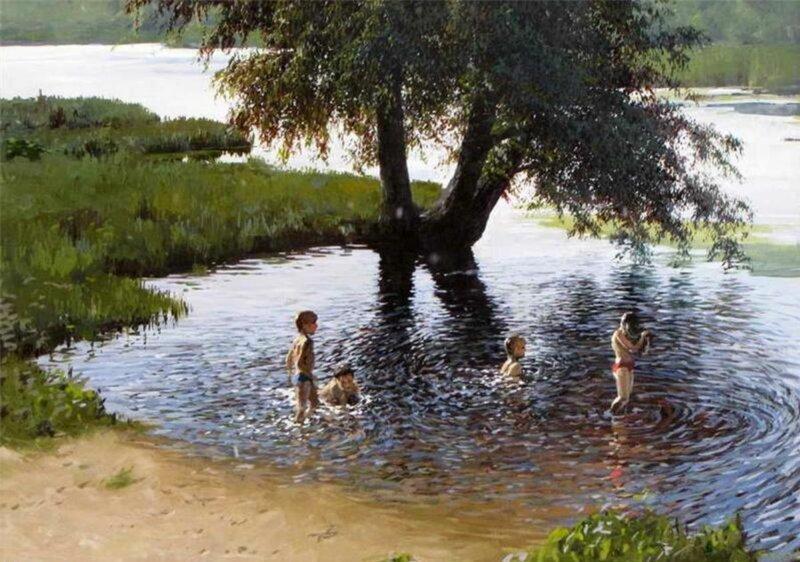 Владимир Александрович Фёдоров и его прекрасные картины (27фото)
