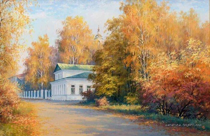 Художник Николай Булыгин и его картины (20фото+1видео)