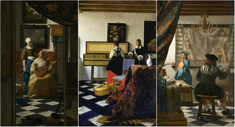 23 прекрасных полотна Яна Вермеера (середина 17 века)