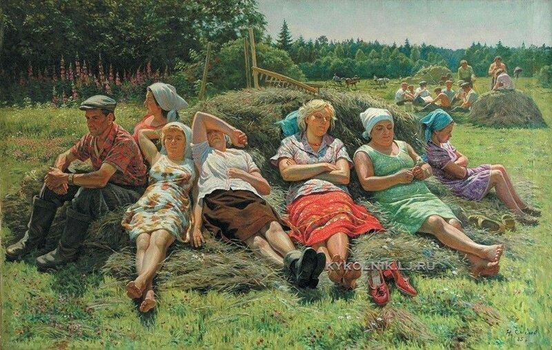 Сысоев Николай Александрович (1918-2001) и его замечательные работы