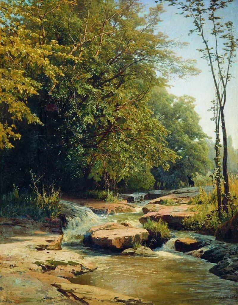 Орловский Владимир Донатович (1842-1914) и его прекрасные пейзажи