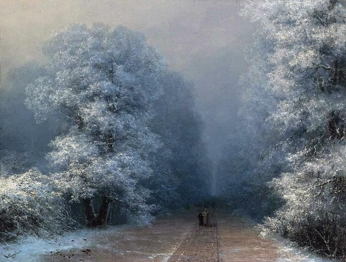 Пейзажи Айвазовского, которые мало кто видел (25фото)