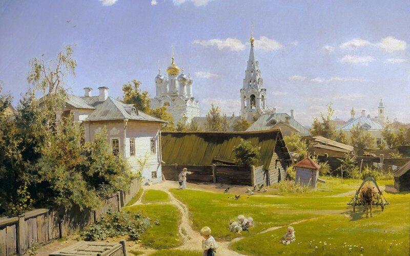 Пейзажи Василия Дмитриевича Поленова (1844 – 1927)