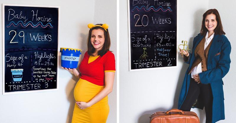 Как превратить беременность в сказку (27фото)