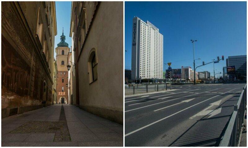 Поляк показал, как выглядит его родной город во время пандемии коронавируса (22фото)