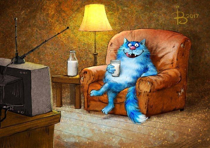 Коты минской художницы Ирины Зенюк. Ассорти (35фото)