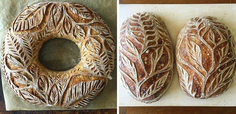 Пекарь покоряет Инстаграм дизайнерским домашним хлебом (21фото)