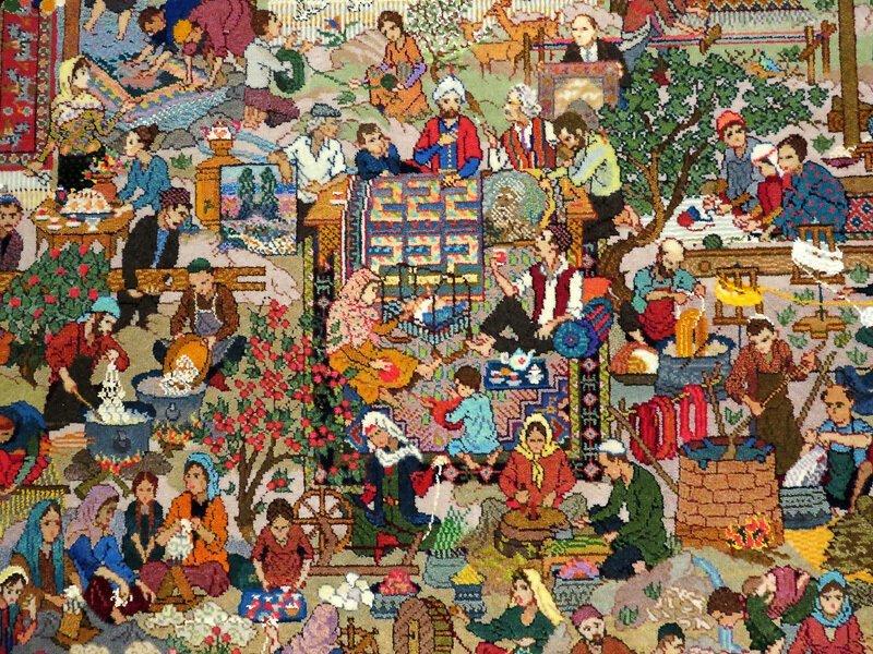 Азербайджан этнографический. Искусство и еда (67фото)