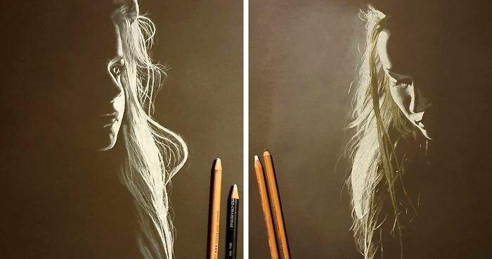 Портреты женщин, которые словно созданы из теней и света (20фото)
