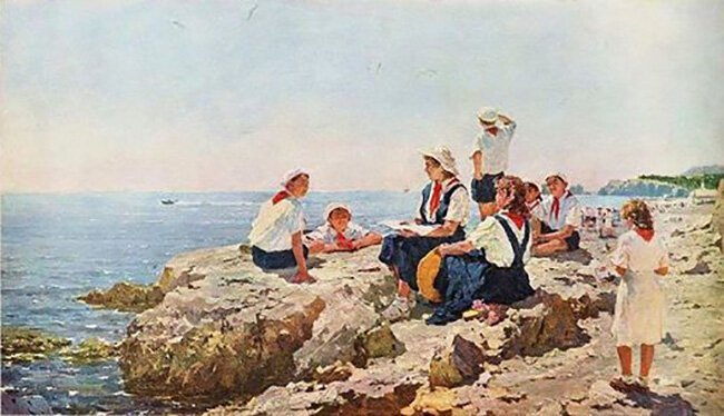 Как проводили лето советские дети: 11 картин (11фото)