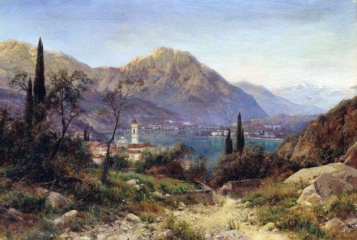 Вельц Иван Августович (1866-1926) и его замечательные пейзажи