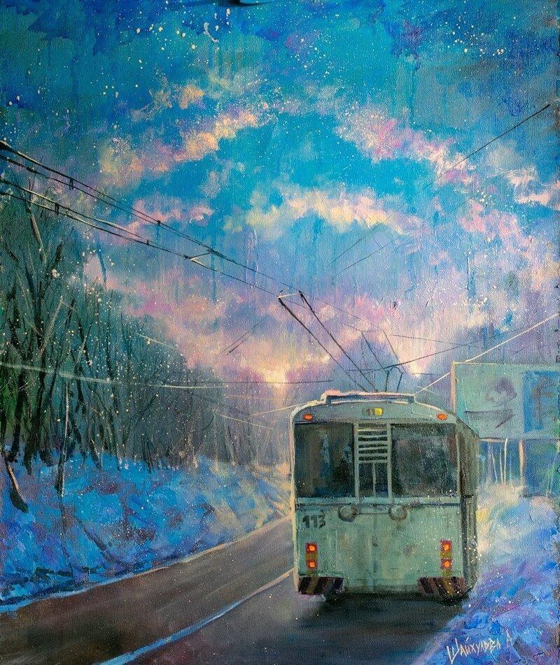 Нарисуем — будем жить: свежие городские зарисовки (40фото)