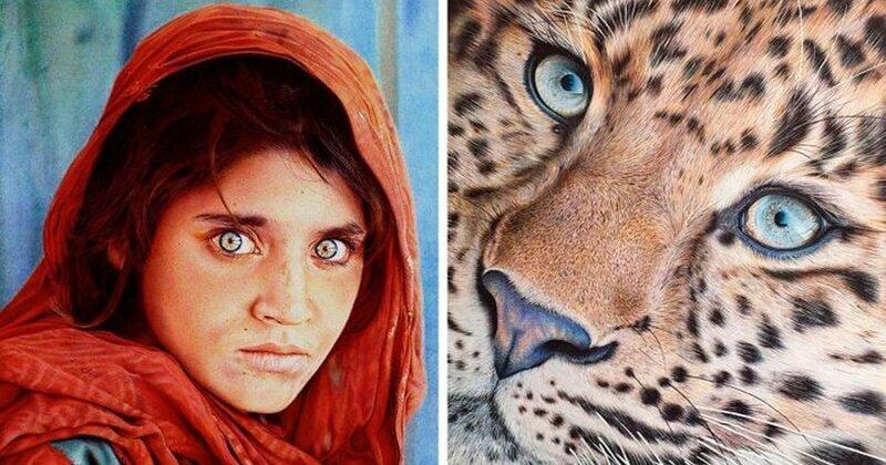 Потрясающие рисунки шариковой ручкой от Самуэля Сильвы (31фото)