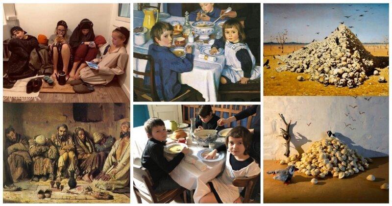 Шедевральная ИЗОизоляция: лучший способ изучить искусство - воспроизвести его (26фото)
