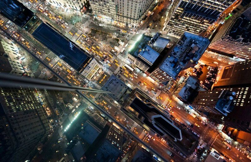Головокружительный Нью-Йорк с высоты небоскребов (23фото)