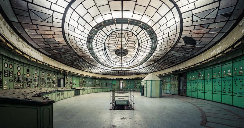 Снимки заброшенной электростанции Келенфельд (11фото)