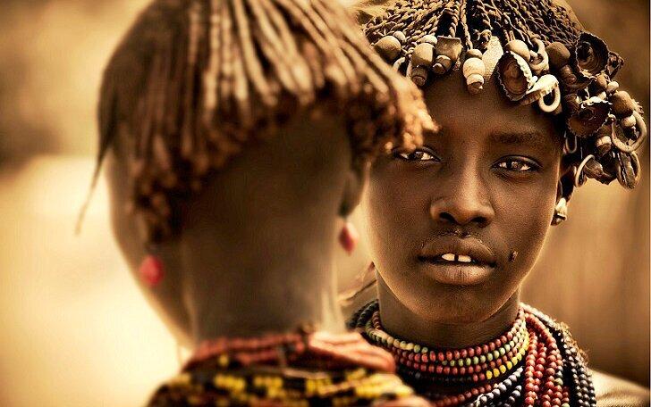 Поразительные фото эфиопских племен (14фото)