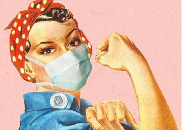 Вот так бы выглядели многие шедевры искусства, если бы их рисовали во время пандемии коронавируса (15 фото)