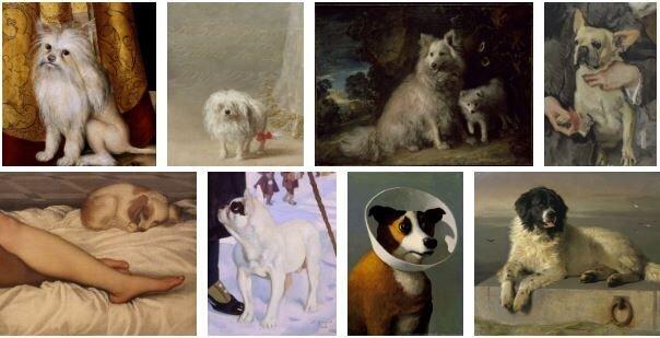Собаки в живописи (20фото)