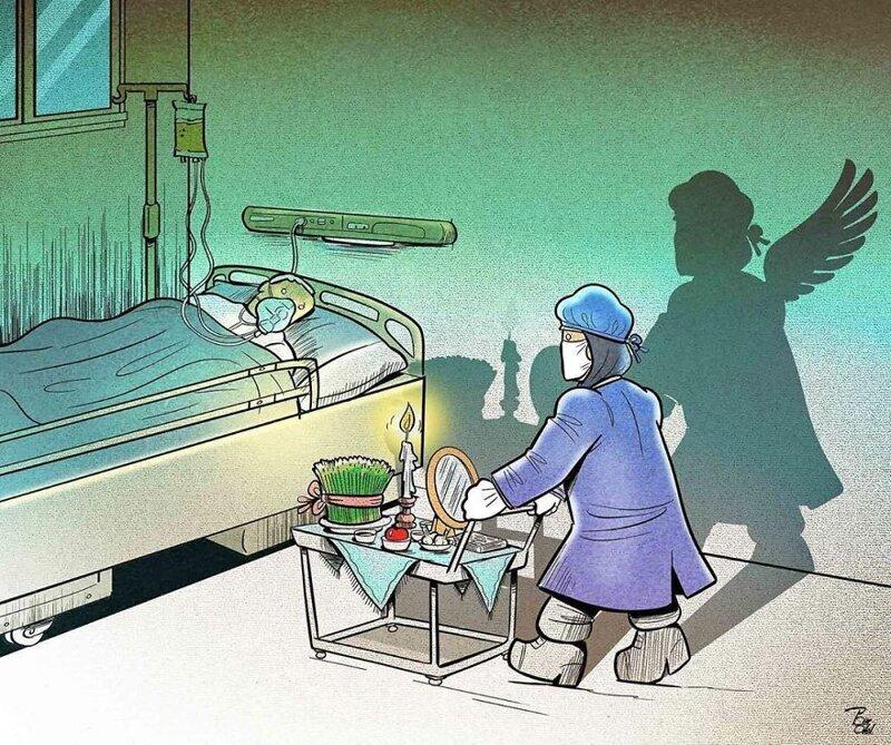 Иллюстрации иранского художника показывают суровую реальность (24фото)