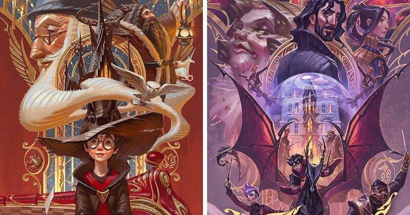 В Таиланде выпустили юбилейные обложки книг о Гарри Поттере (12фото)