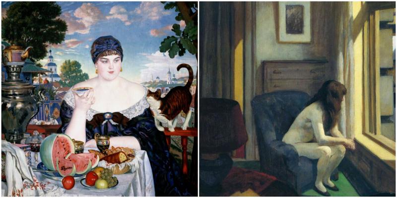 Герои картин, которые самоизолировались до того, как это стало мейнстримом (17фото)