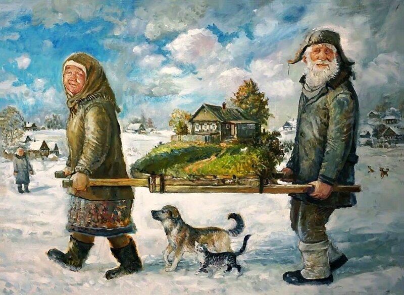 Деревенские старички (29фото)
