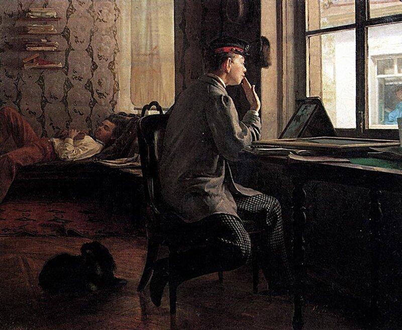5 самых трогательных романтических сцен в русском искусстве (5фото)