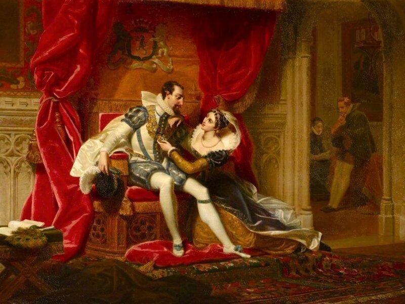 Королева Елизавета и сломанная шея (8фото)