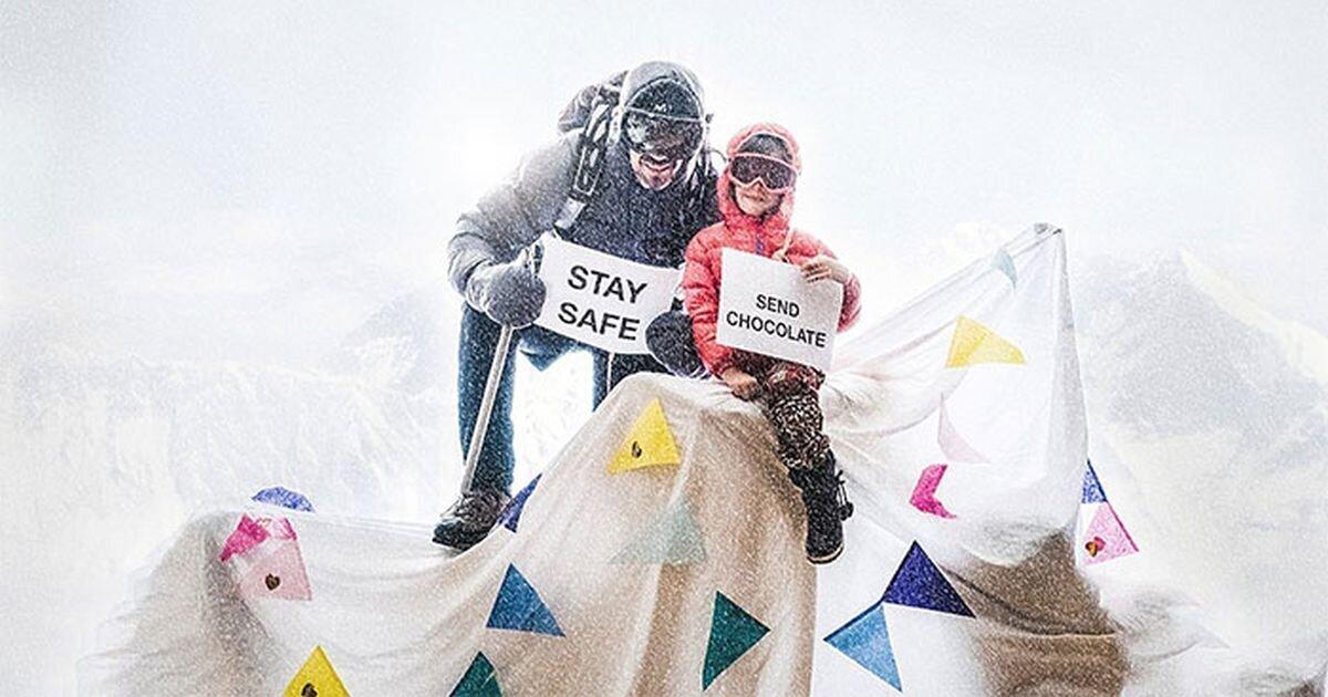 Любитель путешествий придумал, как отправиться в горы не выходя из дома (36фото)