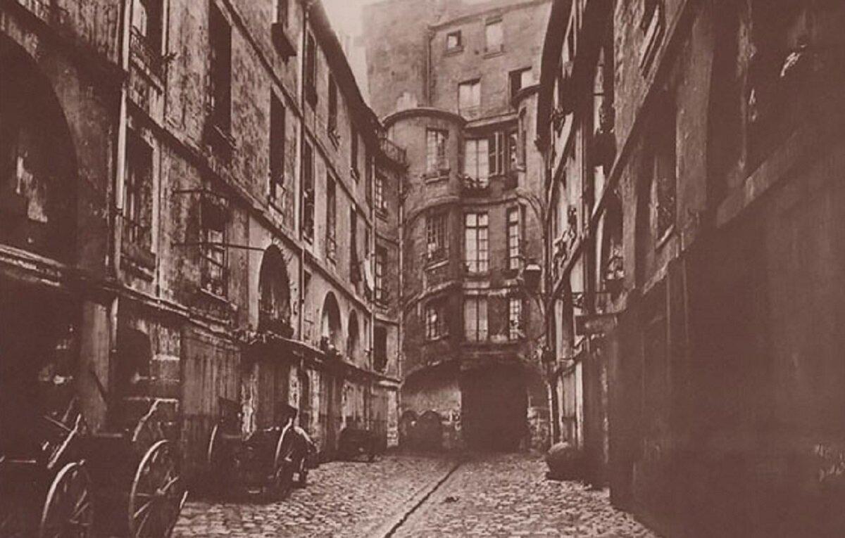 Уличный фотограф XIX века сохранил для нас старый Париж (21фото)