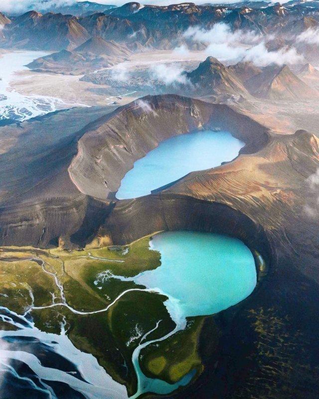 Потрясающие аэрофотоснимки Исландии (9фото)