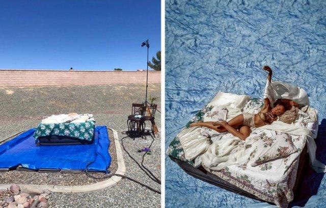 Находчивые фотографы, которые создают шедевры с помощью подручных материалов (15 фото)