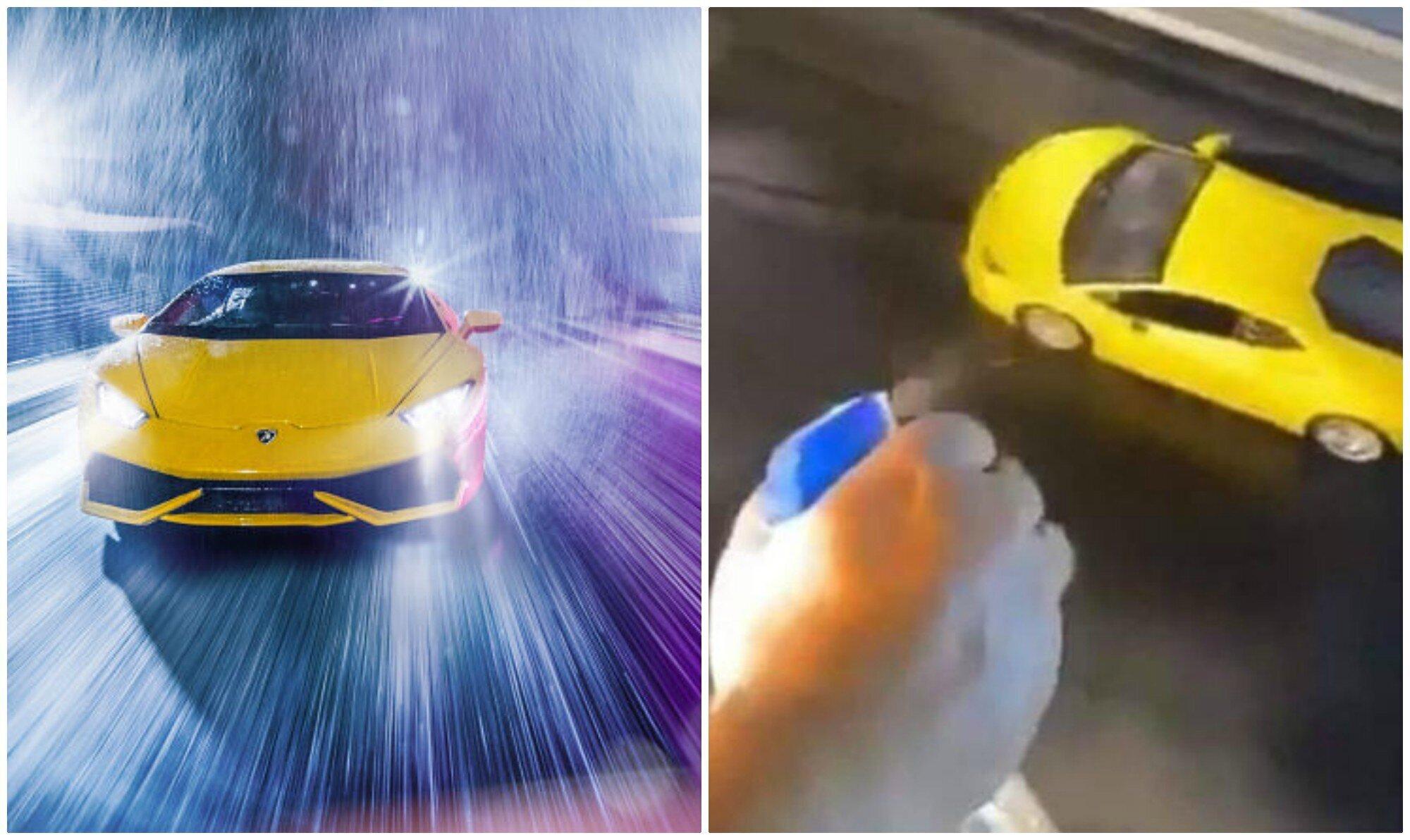 Не отличить от настоящей: фотограф устроил съемки Lamborghini у себя дома (12фото+2видео)