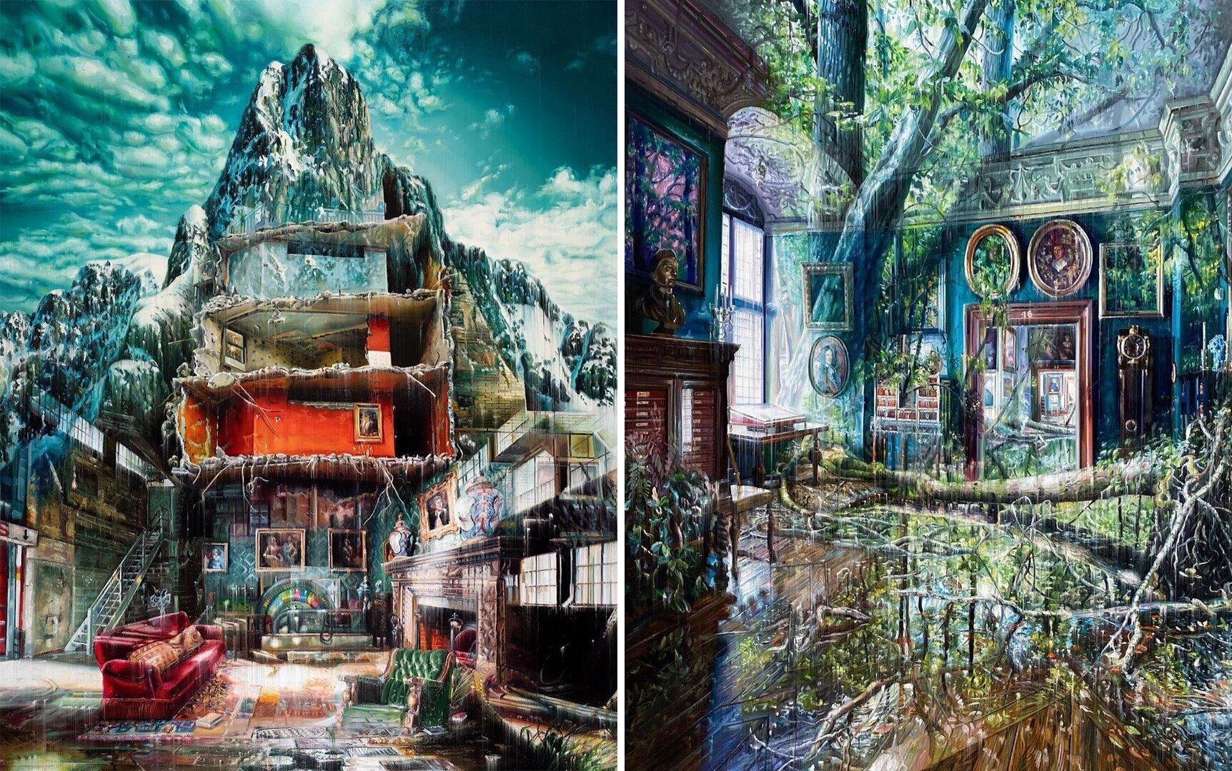 Сюрреалистичные картины художника-мечтателя Джейкоба Брострупа (11фото)